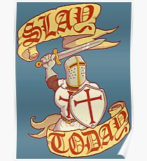 Slay Today Poster