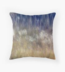 Dancing Grasses Throw Pillow
