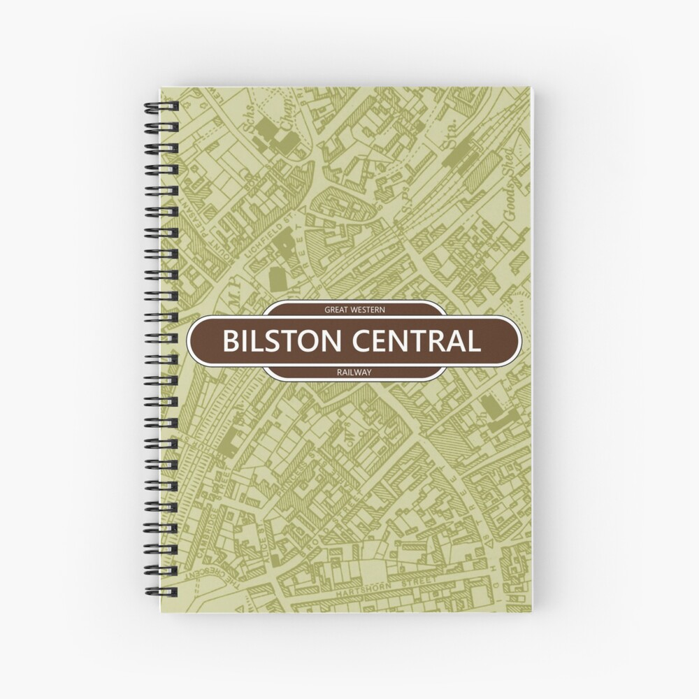 Great Western Railway - Bilston Central Spiral Notebook