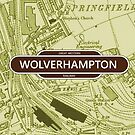 Great Western Railway - Wolverhampton Map by danbadgeruk