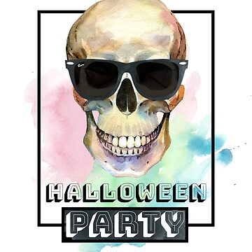 Halloween skull by Kriv71