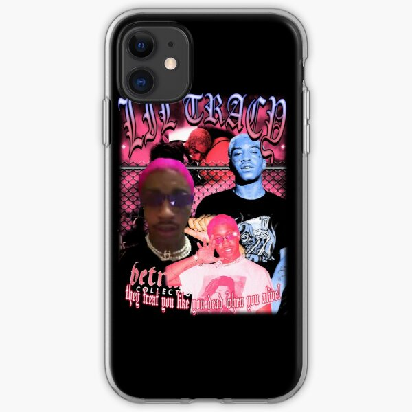 Lil Tracy They Treat You Like You Dead When You Alive! iPhone Soft Case
