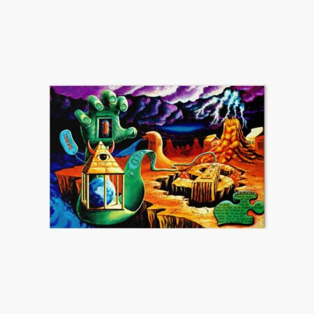 """Trippy Psychedelic Visionary Surreal Psy Art titled """"The Practical Deception"""" by Vincent Monaco.  Art Board Print"""