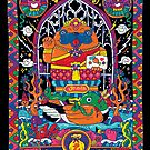 Pug Nang Kwak – Thai Goddess Of Wealth by nokhookdesign