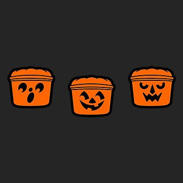 1989's Halloween Buckets  by robotghost