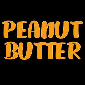 Peanut Butter T-Shirt Halloween Costume by trendo