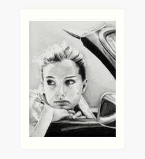 Natalie Portman fanart Art Print