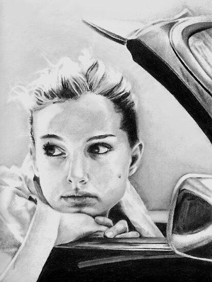 Natalie Portman fanart by Obsessive Coffee Disorder