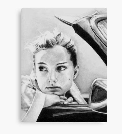 Natalie Portman fanart Canvas Print