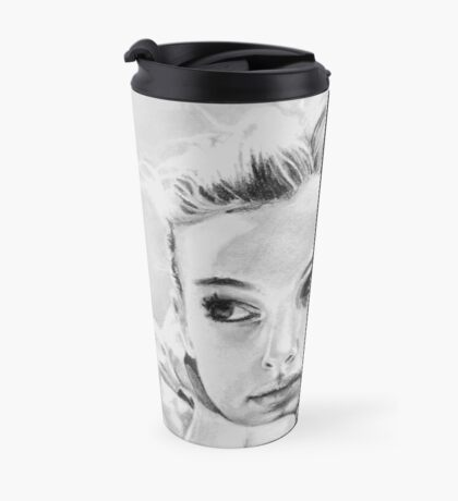 Natalie Portman fanart Travel Mug