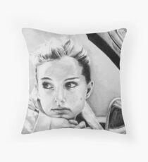 Natalie Portman fanart Floor Pillow