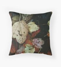 Fall, Leaves, Fall Floor Pillow