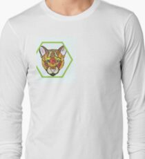 Lion with pattern Long Sleeve T-Shirt