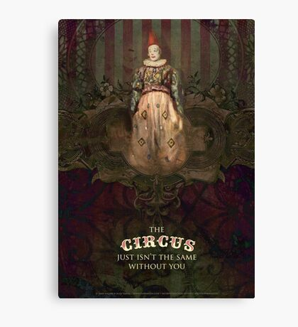 The Circus Without You Canvas Print