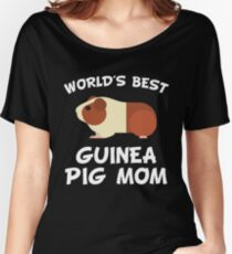 World's Best Guinea Pig Mom T-shirts coupe relax