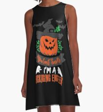 Halloween T-Shirts & Gifts: You Can't Scare Me I'm a Packaging Engineer A-Line Dress
