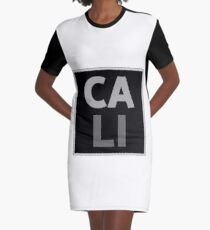 CALI Graphic T-Shirt Dress