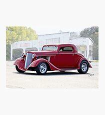 1934 Chevrolet Coupe Photographic Print