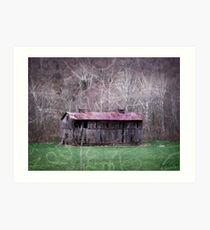 Tates Creek Rd Barn Art Print