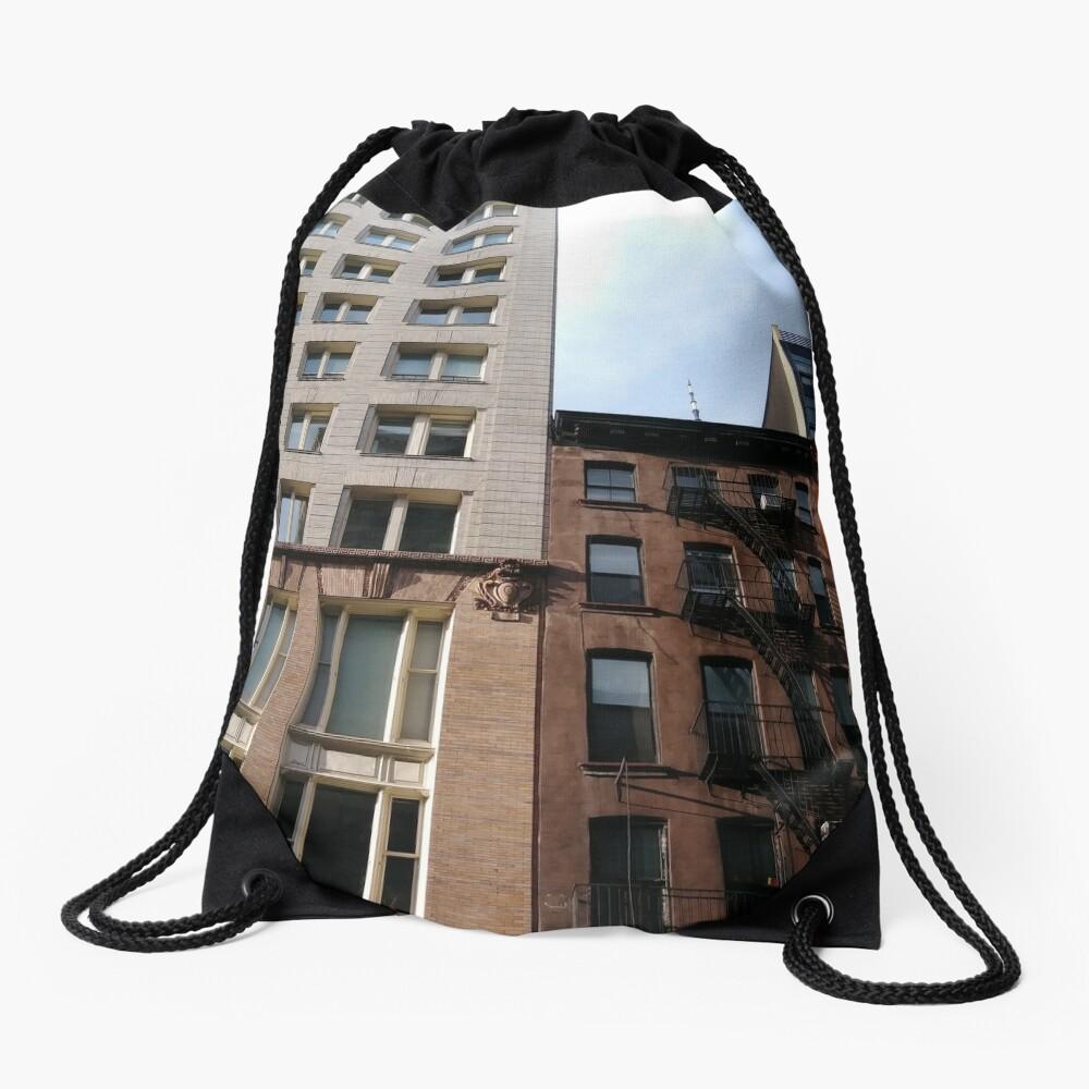 New York City, #New #York #City, #NewYorkCity, #NewYork, #НьюЙорк Drawstring Bag