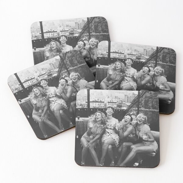 the girls  Coasters (Set of 4)