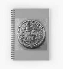 Antique Print of Genetti Coat-of-Arms Spiral Notebook
