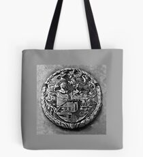 Antique Print of Genetti Coat-of-Arms Tote Bag