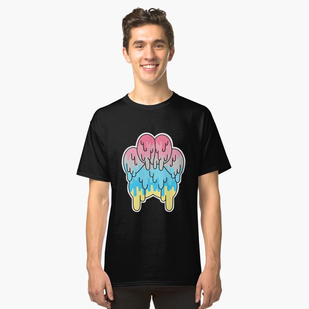 Genderflux Pride Paw Classic T-Shirt