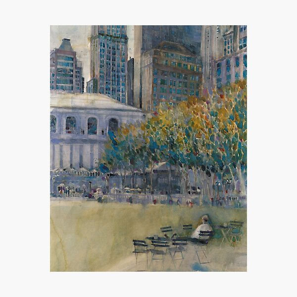 Bryant Park Wall Art Redbubble
