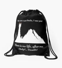LORD OF THE RINGS SAURONS EYE! GIFT FOR HOBBITS Drawstring Bag