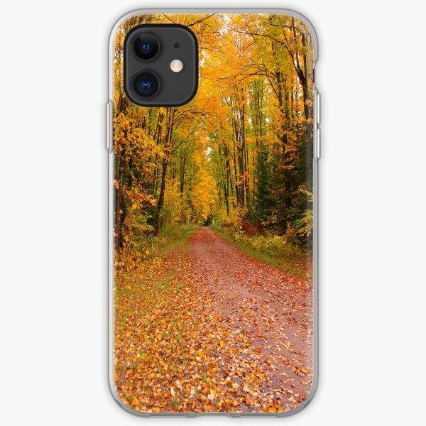 Yellow Walkway iPhone Soft Case