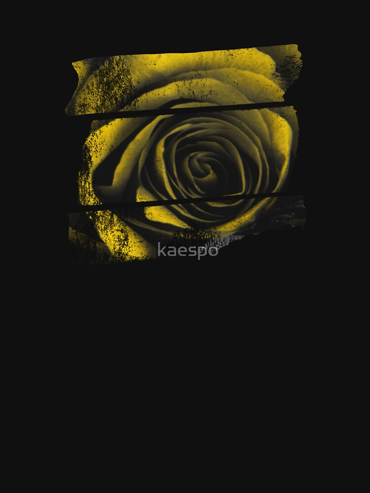 Dark Florals with Bright Yellow Rose Accents by kaespo