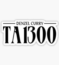 DENZEL CURRY TABOO (HIGHEST QUALITY) Sticker