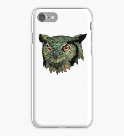 Owl - Red Eyes iPhone Case/Skin