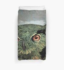 Owl - Red Eyes Duvet Cover