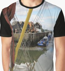 At the Harbour Graphic T-Shirt