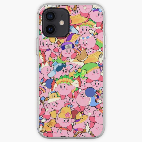 Kirby Patterns  iPhone Soft Case