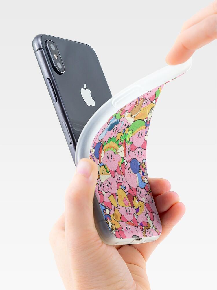 Vista alternativa de Vinilos y fundas para iPhone Patrones de Kirby