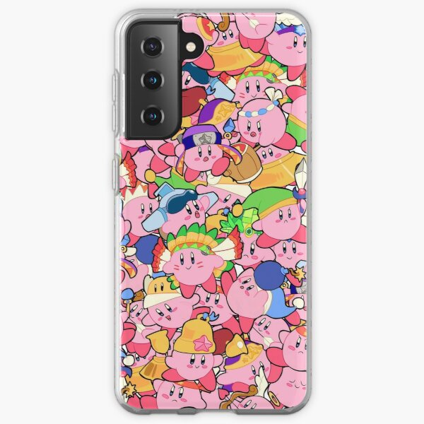 Kirby Patterns  Samsung Galaxy Soft Case