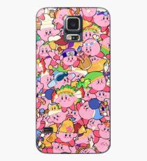 Funda/vinilo para Samsung Galaxy Patrones de Kirby