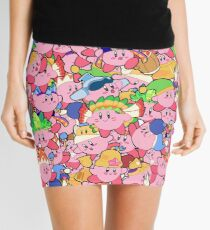 Kirby Patterns  Mini Skirt