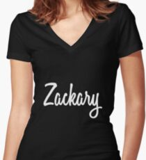 Hey Zackary buy this now Women's Fitted V-Neck T-Shirt