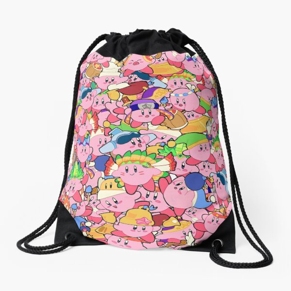 Kirby Patterns  Drawstring Bag