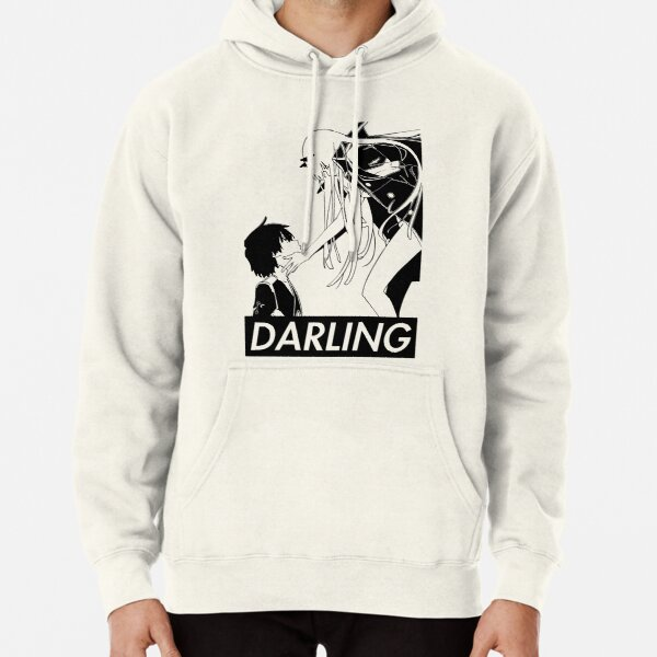 Darling in the Franxx - Kiss of death revers Pullover Hoodie