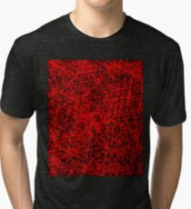 Red Mesh Work, Red Network - HRM Store  Tri-blend T-Shirt