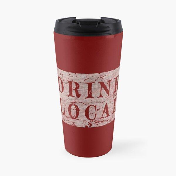 Kansas drink local craft beer design Travel Mug