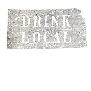 Kansas drink local craft beer design by jhussar