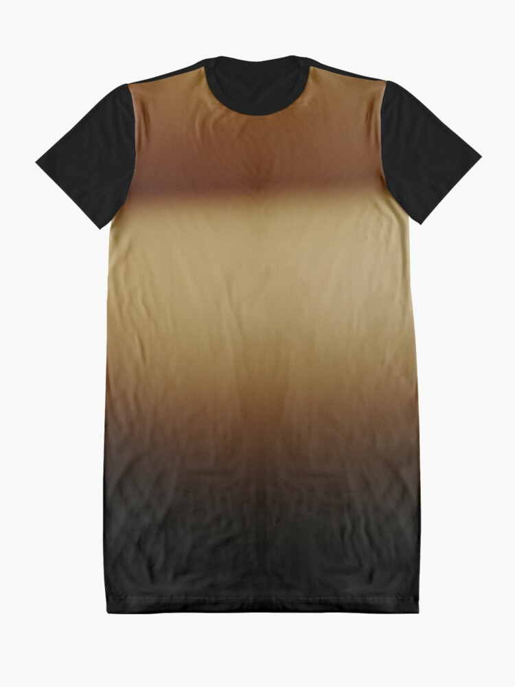 Alternate view of #abstract #light #orange #texture #wallpaper #design #yellow #color #illustration #blue #green #brown #backdrop #gold #bright #pattern #gradient #art #blur #backgrounds #sun #space #colorful #graphic Graphic T-Shirt Dress