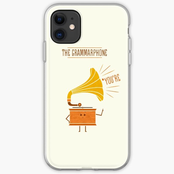 Grammarphone iPhone Soft Case