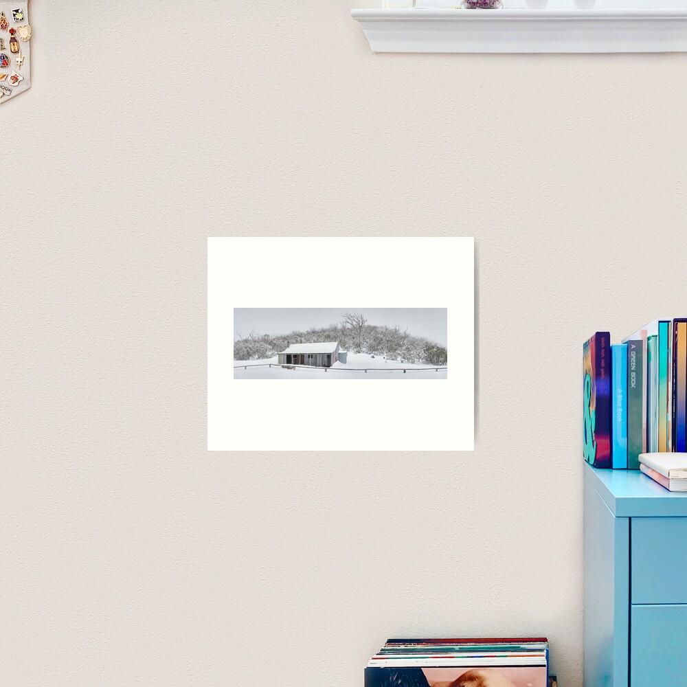 Winter Refuge, Bluff Hut, Alpine National Park, Victoria, Australia Art Print